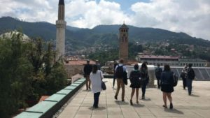 50 percent of the people of Bosnia are aspiring to go abroad to study.
